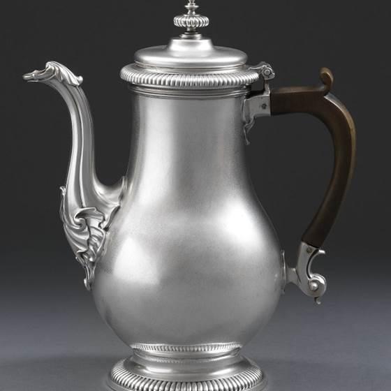 A Plain Bodied Coffee Pot