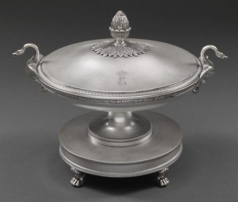 Jean-Baptiste-Claude Odiot (1763 - Paris 1850) A French 'Royal' silver Soup Tureen