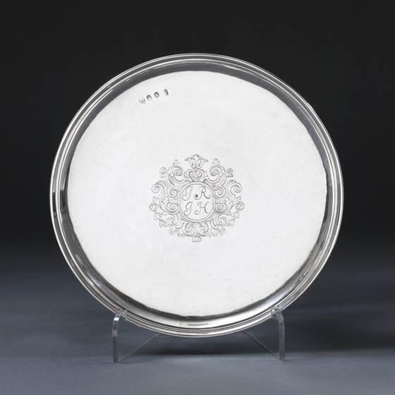 A Fine Silver Tazza
