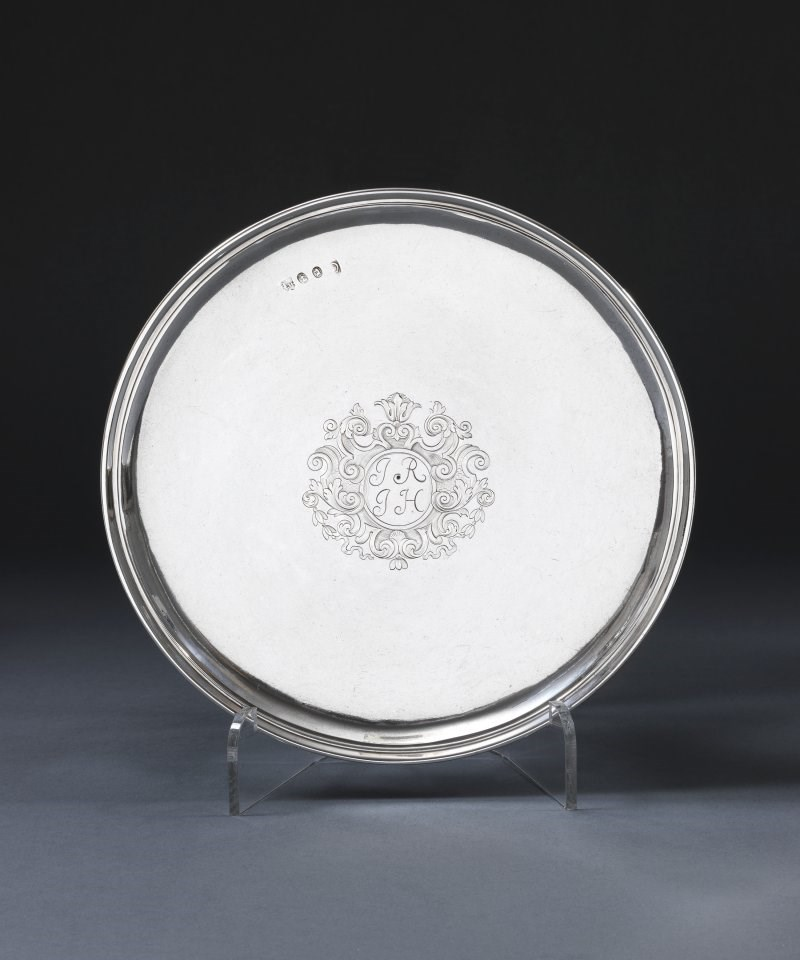 A Queen Anne Silver Tazza : queen anne silver plated tableware - pezcame.com