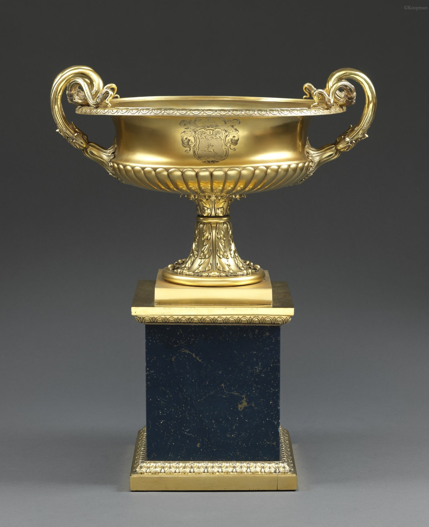 A William IV Vase on Plinth