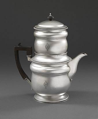 A George III Coffee Percolator