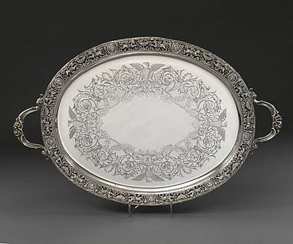 An Impressively Ornate Tray
