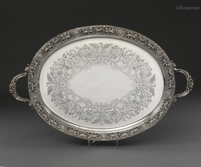 An Impressive Victorian Tray