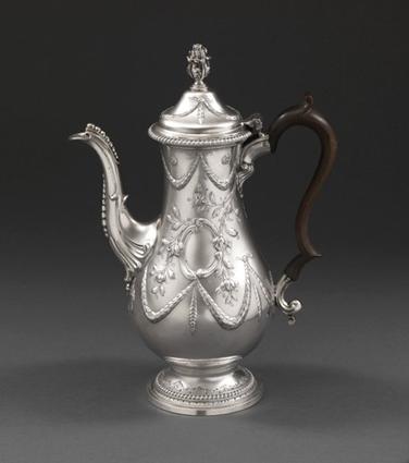 A George III Coffee Pot