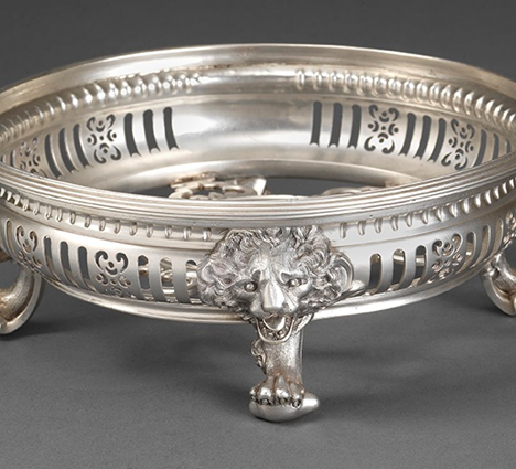 A Spectacular Silver Brazier
