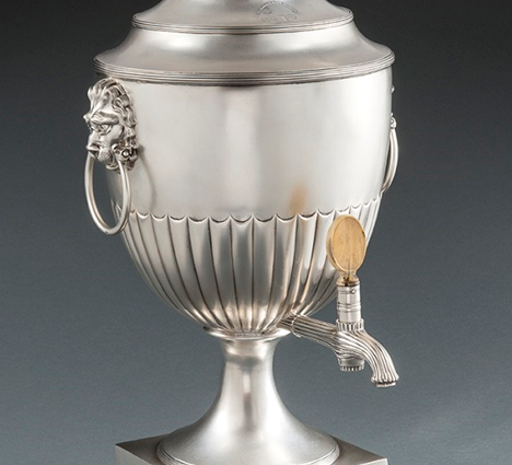 A Magnificent George III Tea Urn