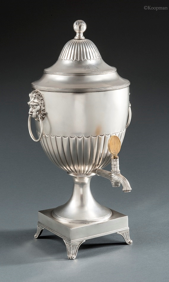 A Magnificent Paul Storr Tea Urn
