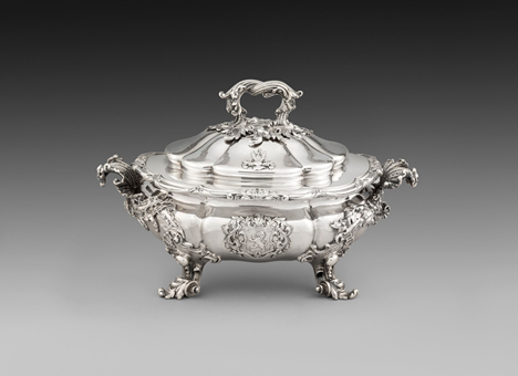 A William IV Silver Soup Tureen & Cover