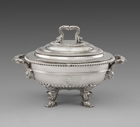 An Elegant George III Soup Tureen
