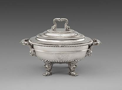 An Elegant George III Soup Tureen