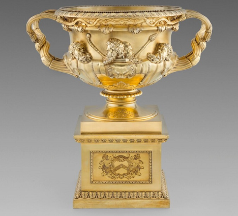 An Exceptional Warwick Vase on Stand with Caribbean Interest