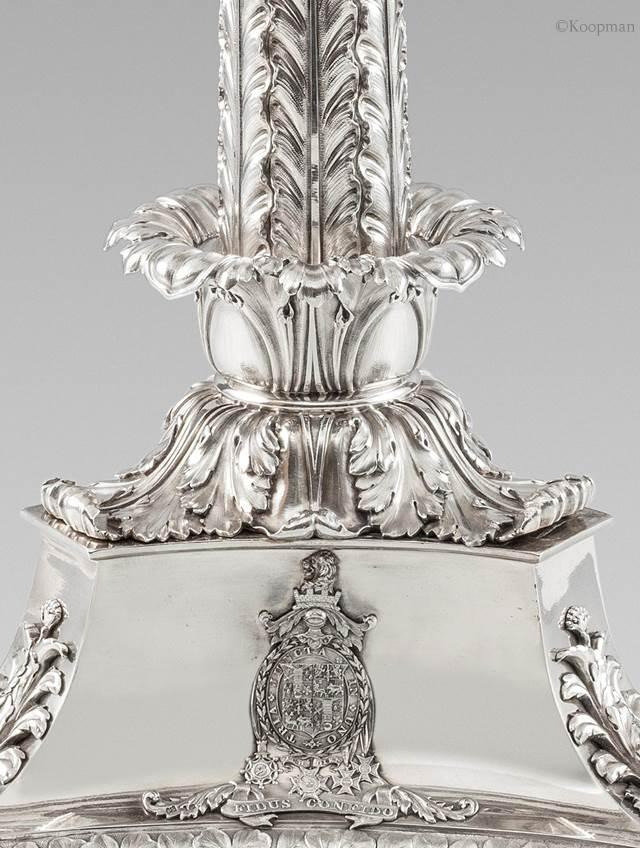 An Important Regency Candelabrum Centrepiece