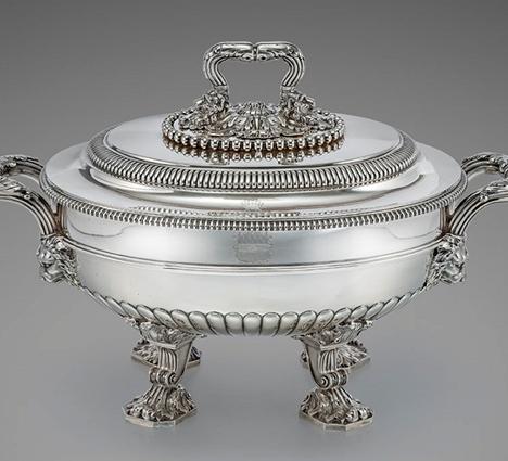 An Outstanding George III Soup Tureen