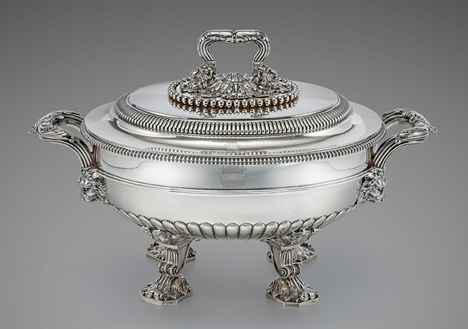 An Outstanding George III Soup Tureen