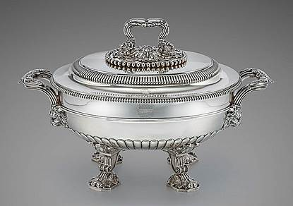 An Outstanding Paul Storr Soup Tureen