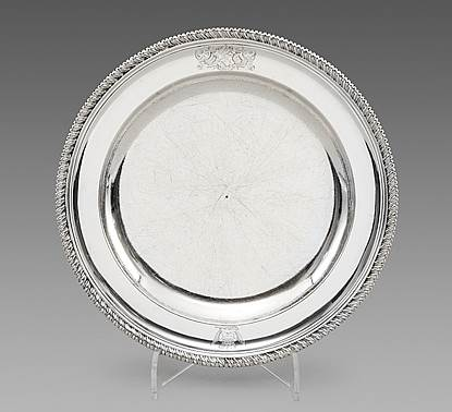 A George II Silver Second-Course Dish