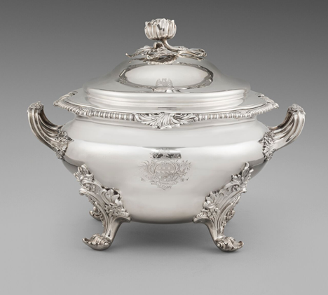 A George IV Round Soup Tureen
