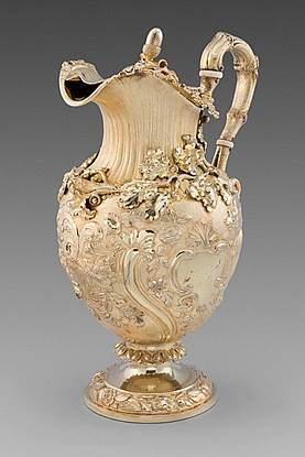 A William IV Oak Leaf Embellished Ewer