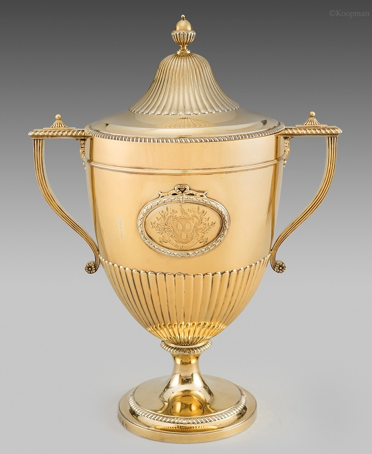 A George III Cup And Cover
