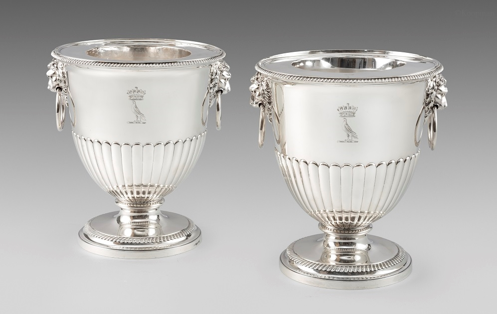 A Pair of George III Wine Coolers