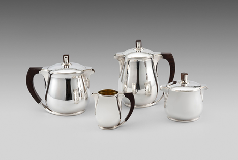 French Art Deco Tea & Coffee Set