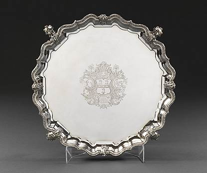 An Important George II Salver