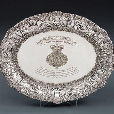 General Thomas Garth's Tray, A Royal Masterpiece