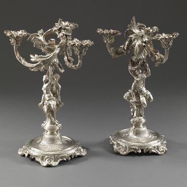A Pair of Candelabra for the Earl of Kildare