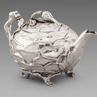 A Novelty Shaped Teapot