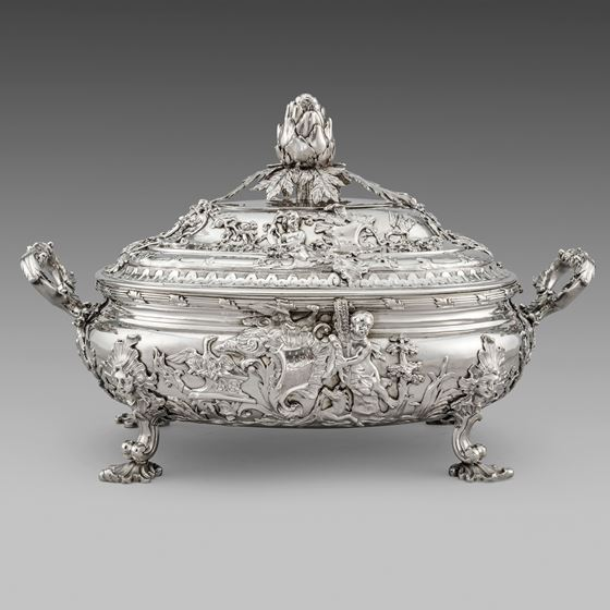 A Rococo Masterpiece - Soup Tureen