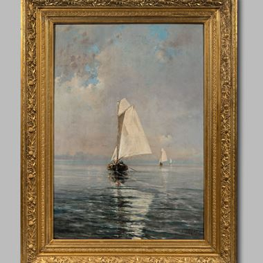 Seaview with Sailboats