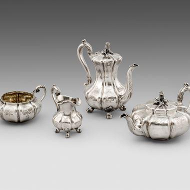 A Paul Storr Tea and Coffee Set