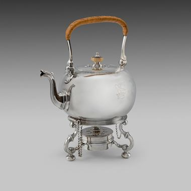 A Fine Kettle on Stand