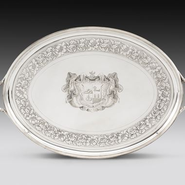 A Massive Late Neo-Classical Style Tray