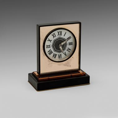 An Art Deco Table Clock