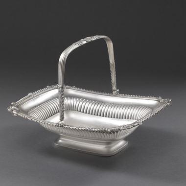 A Paul Storr Basket